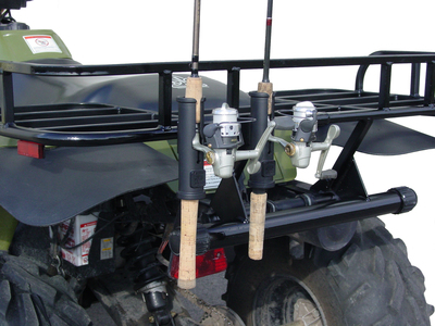 Snowmobile Auger Rack Setups Snowmobile Ice Auger Carrier