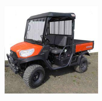 kubota rtv x900 roof and windscreen trax equipment. Black Bedroom Furniture Sets. Home Design Ideas